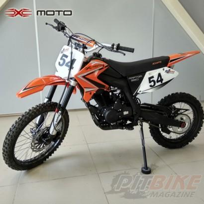 Мотоцикл кроссовый XMOTO Raptor 250