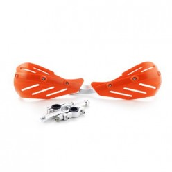 Защита рук (пара) HP15 оранжевые армированные SM-PARTS