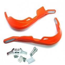 Защита рук (пара) HP03 оранжевые армированные SM-PARTS
