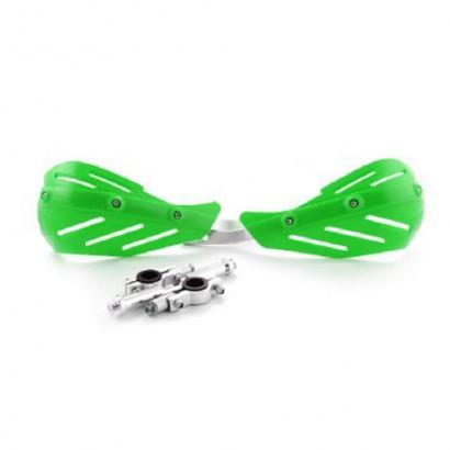 Защита рук (пара) HP15 зеленые армированные SM-PARTS