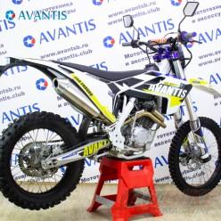 Мотоцикл Avantis Enduro 250 21/18 (172 FMM Design HS) с ПТС