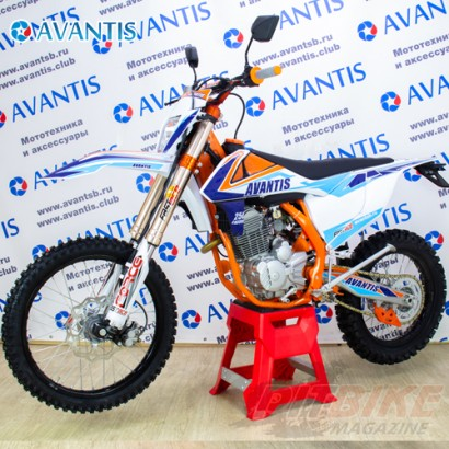 Мотоцикл Avantis Enduro 250 ARS 21/18 (172 FMM Design KT) с ПТС