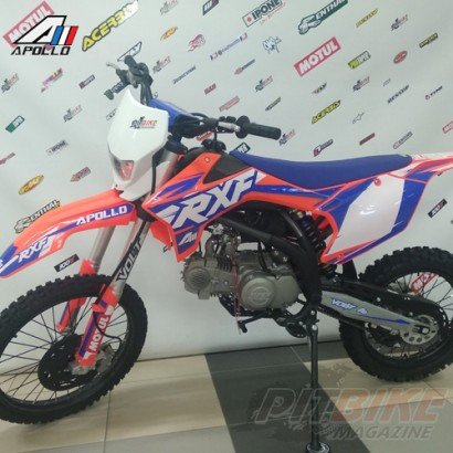 Питбайк APOLLO RXF Freeride 140L 19/16