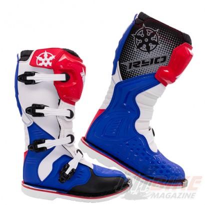 Мотоботы кроссовые RYO Racing MX3, син/бел/кр