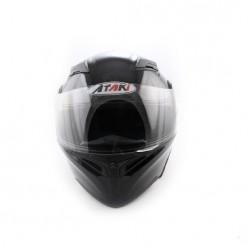 Шлем (модуляр) Ataki FF902 Solid (черный глянцевый)