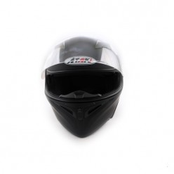 Шлем (модуляр) Ataki FF902 Solid (черный матовый)