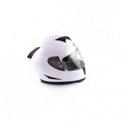 Шлем (интеграл) Ataki FF311 Solid (белый глянцевый)