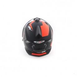 Шлем (мотард) Ataki FF802 Strike (оранжевый/черный матовый)