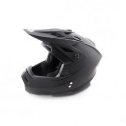 Шлем (кроссовый) Ataki MX801 Solid (Черны матовый)