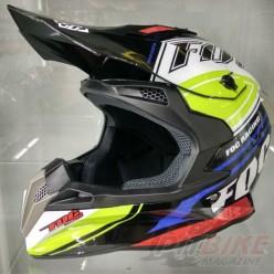Шлем (кроссовый) Avantis Fog Черный