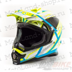 Шлем (кроссовый) HIZER B6196 yellow