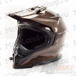 Шлем (кроссовый) HIZER B6197 gray