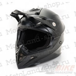Шлем (кроссовый) HIZER 615 matt black