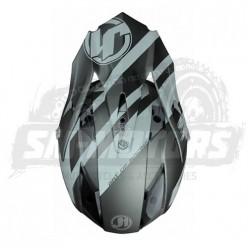 Шлем (кроссовый) JUST1 J32 PRO Kick титановый