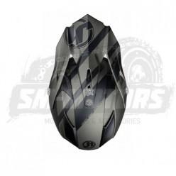Шлем (кроссовый) JUST1 J32 PRO Kick черный/титановый