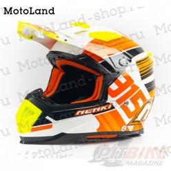 Шлем (кроссовый) NENKI 315 orange