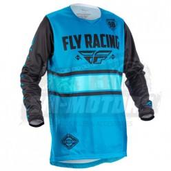 Джерси FLY RACING KINETIC ERA (2018) синий/черный