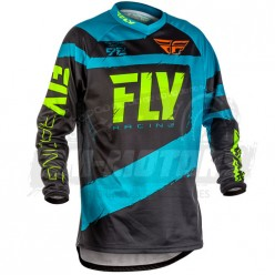 Джерси FLY RACING F-16 (2018) синий/черный