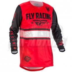 Джерси FLY RACING KINETIC ERA (2018) красный/черный