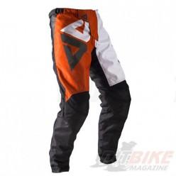 Брюки для мотокросса ATAKI Strike серый/оранжевый
