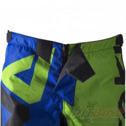 Брюки для мотокросса ATAKI Strike синий/зеленый