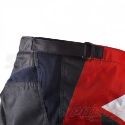 Брюки для мотокросса ATAKI Strike красный/черный