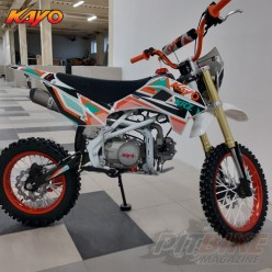 Питбайк KAYO CLASSIC YX125EA 17/14 KRZ (п/автомат, эл. стартер 2019 г.)