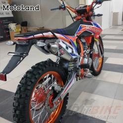 Мотоцикл кроссовый Motoland WRX250 KT (ПТС)