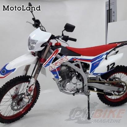 Мотоцикл кроссовый Motoland WRX250 LITE (ПТС)