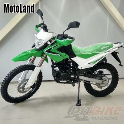 Мотоцикл кроссовый Motoland XR250 ENDURO
