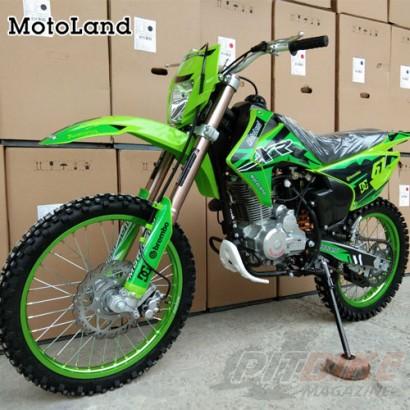 Мотоцикл кроссовый Motoland XR250 LITE