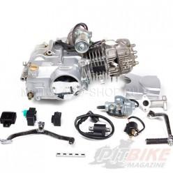Двигатель 125см3 152FMI (52.4x55.5) механика, 4ск, стартер сверху
