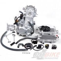 Двигатель 250см3 169MM CB250 (69x65) Zongshen 2 клапана/водянка, полный комплект+радиаторы