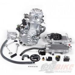 Двигатель 250см3 170MM-2 CB250 (70x65) Zongshen 4 клапана/водянка, полный комплект+радиаторы