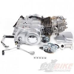 Двигатель 125см3 152FMI (52.4x55.5) механика, 4ск, нижний стартер