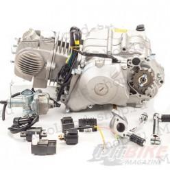 Двигатель 140см3 156FMJ YX X150 (56x57) механика, 4ск., нижний стартер