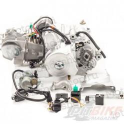 Двигатель 125см3 152FMI (52.4x55.5) полуавтомат, 3ск+реверс, верхний стартер