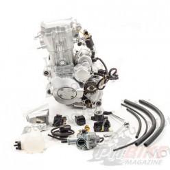 Двигатель 250см3 167MM CG250 (67x65) водянка, грм штанга, 4ск.+реверс, полный комплект+радиаторы