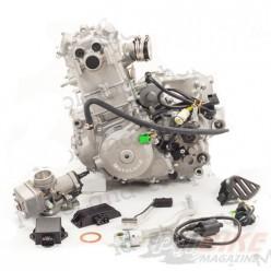 Двигатель 250см3 177MM NC250 (77x53,6) Zongshen 4 клапана/водянка, полный комплект+радиаторы