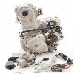 Двигатель 450см3 194MQ NC450 (94,5x64) Zongshen 4 клапана/водянка, полный комплект+радиаторы
