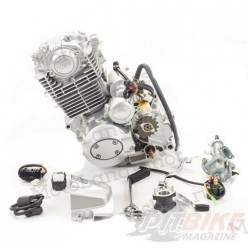 Двигатель 200см3 163FML CB200 (63,5x62,2) грм цепь, 5ск