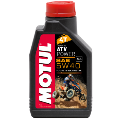 МАСЛО МОТОРНОЕ MOTUL ATV POWER 4T, SAE 5W40 (1L)