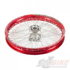 """Обод 17"""" передний алюминий (1,60-R17 d=15mm) красный"""