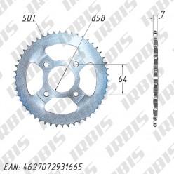 Звезда ведомая (428H-50T) (4x63) D58 CG125-250, CB125-250 TTR250Rb std